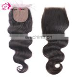 Alibaba Hot Products Brazilian hair silk base closure