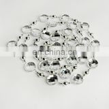 Silver 6ft Wedding Crystal Bead Garland for christmas Hang tree