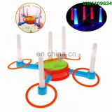 Ring Toss Kids Adults Games Improve Eye-Hand Coordination and Fine Motor Skills - with Carrying Case, Plastic Rings