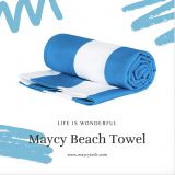 Summer Sand Free Microfiber Beach Hand Hair Towel, Fast Dry Large Marine Sports/Yoga/Travel/Camping/Bath Towel