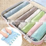 New Multifunctional travel Blanket Quilt Storage Bag Organizer 12 pieces set free Hand Pump Vacuum clothing compression bag