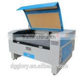 Glorystar co2 mini fabric laser cutting machine price for acrylic wood leather/small cnc laser engraver and cutter