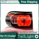 AKD Car Styling Tall Lamp for FJ Cruiser DRL New FJ Cruiser LED DRL 2016 FJ Cruiser LED Tail Light Good Quality LED Fog lamp