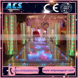 Alibaba china pool swiming stage/ glass rgb light stage/ different led light design stage promotion price