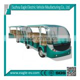 29 seats electric bus train, Pure electric, manual drive system, transmission gear box, cluth, 5 speed