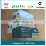 2013 clear plastic box