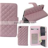 Leather smart folio case for iphone 6 Flip leather case