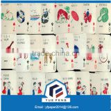 Playing Card Base Paper/Two Side Coated Card Board White Back