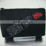 Fashion glitter cosmetic bag