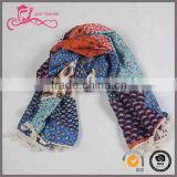 color matching print wholesale scarf, stole Viscose pashmina feel plain viscose scarves ,scarf for women