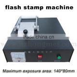electric pre-inked stamp flash machine