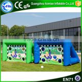 Commercial inflatable soccer training dummy,goal post inflatable soccer goal for kids