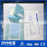 Disposable Nonwoven Surgical Kit Medical Set Ophthalmology packs with CE,ISO certification