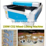 Portable CO2 Mixed CNC Laser Cutting Machine For Metal stainlessl/Wood/plastic /acrylic
