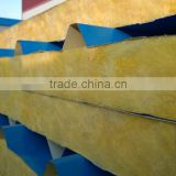 2016 hot sale roofing glass wool sandwich panel fireproof glass wool sandwich panel double corrugated steel coated color