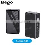 Elego VT 200W BOX MOD SMY SDNA 200 TC Mod box mod smy200W TC vs Subox Mini Kit/ subtank mini bell cap