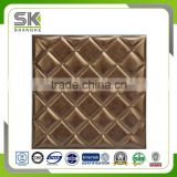 3D decorative PU leather Ceiling and Wall panel ,3D Leather ceiling tile