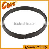 Carbon fiber filled ptfe wear ring for hydraulic cylinder