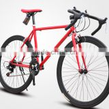 700C steel frame disc brake cheap road racing bike                                                                         Quality Choice