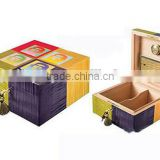 custom made wooden paper cigarette box printing with timer                                                                         Quality Choice