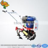 Mini garden machinery for cultivating,fertilizing,seeding,ridging