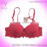 Soft Bra Lace Design Fancy Lady Breast Lift Bra