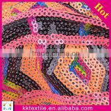 Bags,Garment,Shoes Use and PET,100% PET or PVC Material fabric sequins