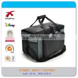 Outdoor Camping Large Capacity Insulated Foil Lining Lunch Bag, Cooler Lunch Bag, Lunch Cooler Bag with Drink Holder