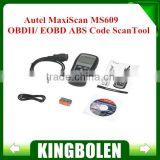 Hot sale Autel MaxiScan MS609 OBDII/ EOBD ABS Code ScanTool high quality MS 609