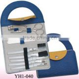 handbag cosmetic set and manicure set