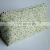 Simple ladies cosmetic bag / Customised travel Toiletery bag(BSCI, ICTI, SA8000 and SMETA factory)