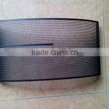 China factory direct wholesale powder-coating perforated metal mesh speaker grille, Speaker Cover for Electronic Parts
