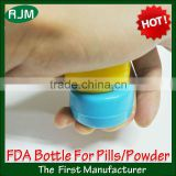 2013 new daily pill containers/fashion baby powder container/pressure proof keychain pill containers