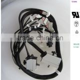 EDAC HAN onnector + Nylon braided tube+WAGO connector(Crimping+assembly) custom wiring harness customization,