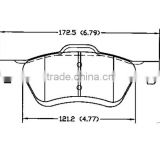 front brakes D1047 AN6Z-2001-A for Mazda Ford front brake pads cost