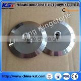 3A approved Stainless Steel Sanitary tri clamp bowl cap with sight glass and male npt threade