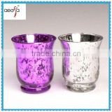 Home Decorative Bulk Wine Glass Votive Hurricane Candle Holders