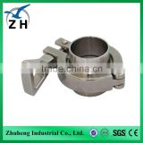 High quality food grade stainless steel pipe repair clamp                                                                         Quality Choice