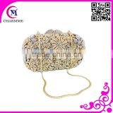 Cute pure manuanl design CT-0099 cute full flower hand bag for big wedding or party dress