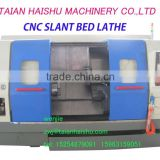 CNC450B-1 slant bed cnc lathe made in china with CE