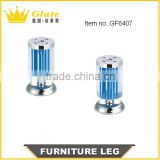Sofa Legs Acryllic, Berg Crystal Furniture Leg, Irish Diamond Sofa Leg/