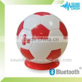 2014 newest promotional best portable Football Bluetooth speaker 2.4W bluetooth car stereo