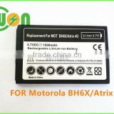 BH6X Mobile/Cell Phone Battery for Motorola Atrix 4G MB860 Droid X2 MB870
