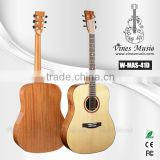 spruce solid top guitar quality acoustic china made guitars (W-MAS-41D)