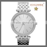 FS FLOWER -- Diamond Watch Mens Womens Couple Watch