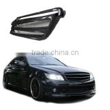 Carbon fiber Grille for Benz C-calss C63 AMG Bra style