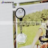 Blank Key Ring DIY Digital Photo Sublimation Creative Promotional Gift Crystal Key Chain