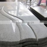 G623 China Haicang White Grey Granite Monument Headstone