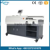 A3 Three Glue Roller Office Perfect Binding Machines with 20 Teeth Sun Milling Cutter S60-A3
