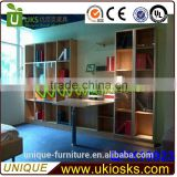 High quality book cabinet, new design in book shelf cabinet made in China